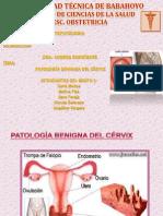 Patología Benigna Del Cérvix