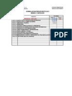 Exel Presupuesto Hongos 2013 Roxi