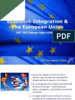 Presentation on the European Union Formation
