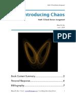 Book pdf theory chaos