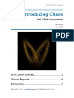 """""""Introducing Chaos"""" Book Report"""
