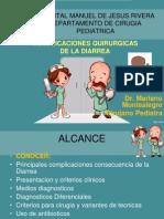 Clase de Complic Qx Diarrea