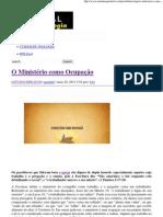 O Ministério como Ocupação _ Portal da Teologia.pdf