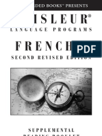 Pimsleur French Package Number 2 Reading practice