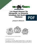 53339262 Albaicin Joaquin Los Bogd Khanes de Mongolia La Dinastia Olvidada Del Budismo Tibetano