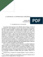 Bernabé - La génesis de la terminología lingüística.pdf