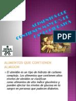 Exposicion de Carbohidratos Azucar y Almidon