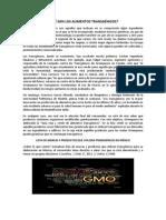 LISTA DE MARCAS Y PRODUCTOS QUE UTILIZAN TRANSGÉNICOS EN MÉXICO