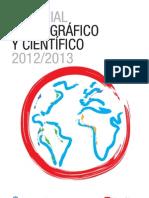 Material Cartográfico y Científico 2012-2013
