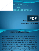 Industry Analysis & Economic Reforms