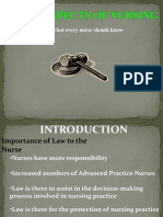 Laws in Nursing