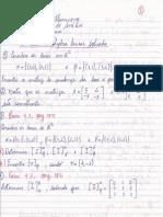 5ª Lista de Exercícios de Álgebra Linear Aplicada