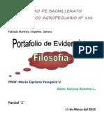 PORTAFOLIO fILOSOFIA