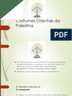 Costumes Orientais Da Palestina