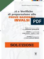 Guida Insegnante Soluzioni ITALIANO Test e Verifiche