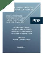 Modelo de Series de Tiempo Riesgo País