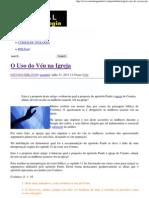 O Uso do Véu na Igreja _ Portal da Teologia.pdf