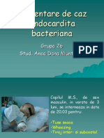 Prezentare de Caz-final- Endocardita