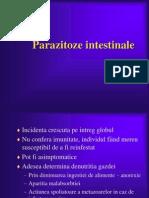 Parazitoze intestinale