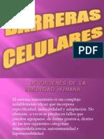 BARRERAS   CELULARES