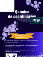 Química de coordinación