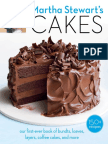 Recipe from Martha Stewart's Cakes