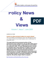 Economic Policy News and Views June 2009
