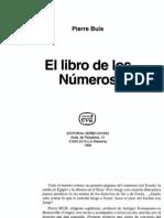 Buis, Pierre - El Libro de Los Numeros