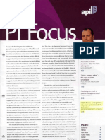 PI Focus - March 2011