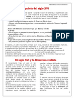 01.La literatura española del siglo XVI