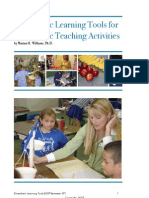 Kinesthetic Tools and Activities