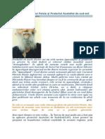 Profeţiile Părintelui Paisie şi Proiectul Anatoliei de sud