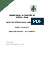 Plan Completo Psicologia Laboral