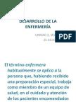 DESARROLLO DE LA ENFERMERÍA