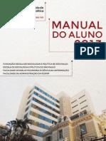 Manual Aluno Fespsp 2013