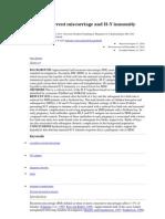 jurnal imunologi abortus
