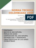 Norma Tecnica Colombiana 2505