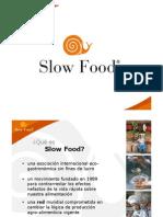 Slow Food - Brochure de presentación