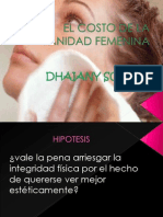 El Costo de La Vanidad Femenina(Corregida Re Corregida)