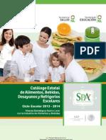 Catálogo de Refrigerios SPA