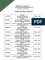 Calendario Pp Autovelox Agosto 2013-2