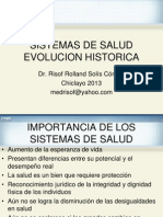2 Importancia e Historia Sistemas de Salud