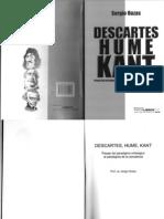 Descartes, Hume y Kant