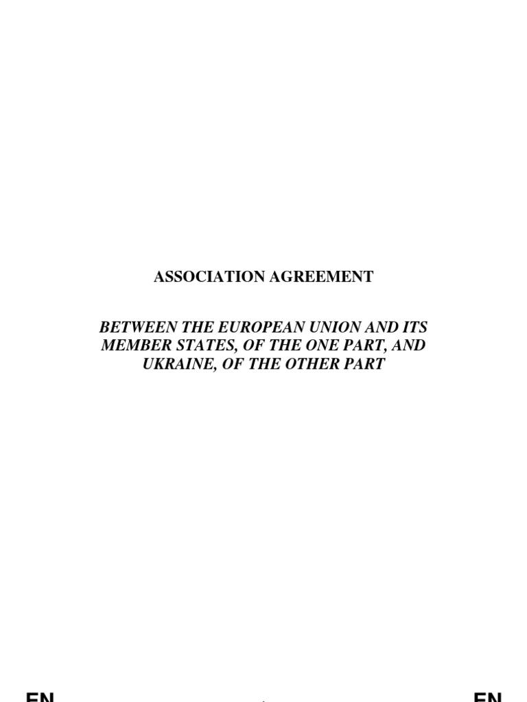 Eu Ukraine Association Agreement English Organization For Security
