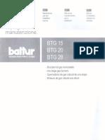 Manual Quemador BTG-28