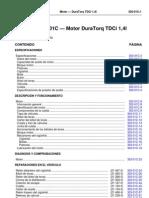 Motor DuraTorq TDCi 1,4l