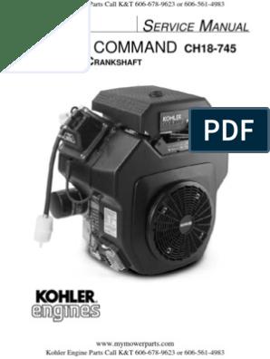 Kohler-Service-Repair-Manual-Command-CH18-CH20-CH22-CH23