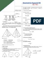 CSim-21 - Resumo de Geometria Espacial - Pir_mides