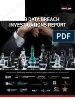 Verizon Data Breach Investigations Report 2013