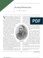 Vindicating Voluntaryism